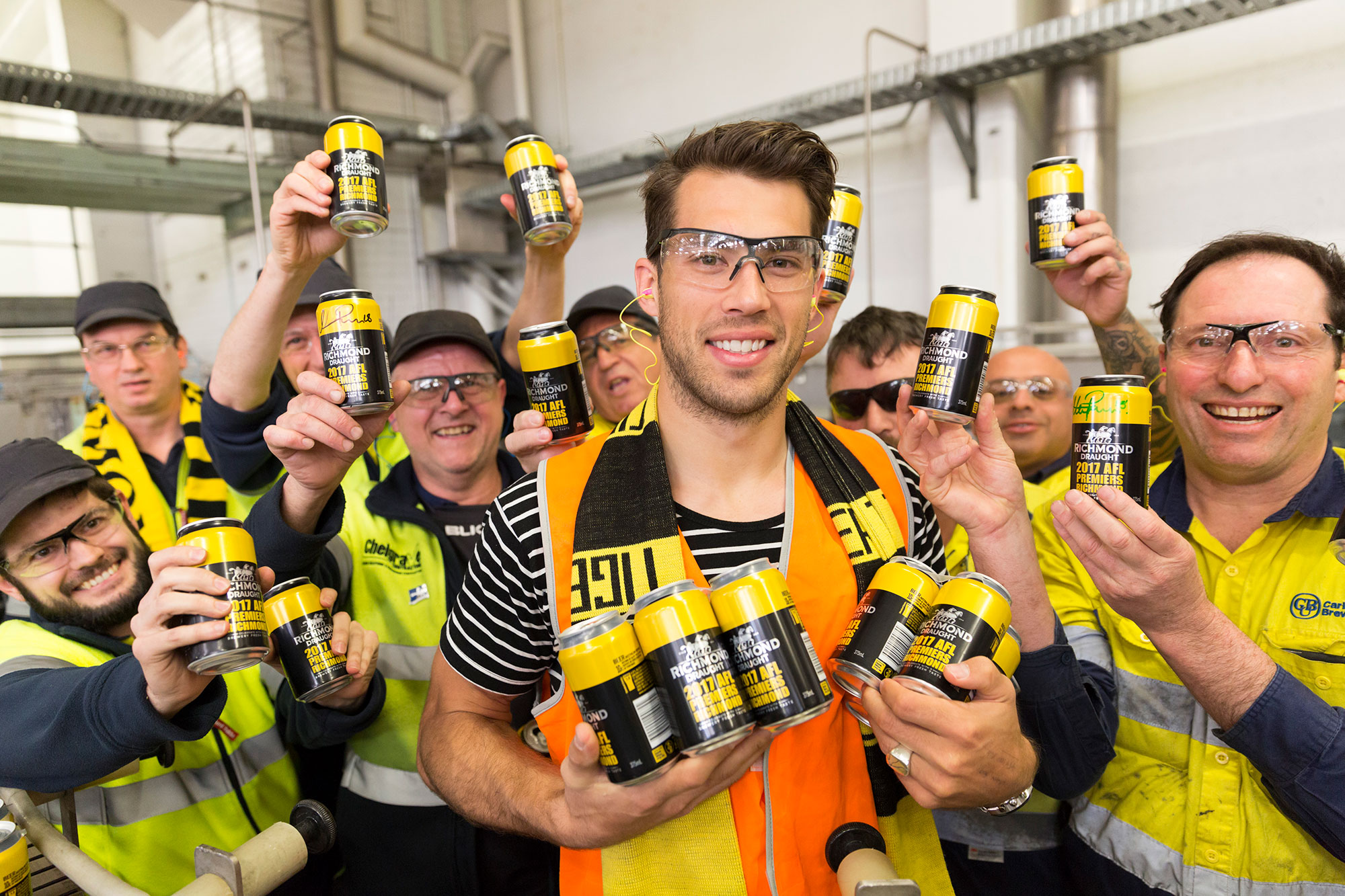 CUB releases limited edition Richmond premiers beer cans