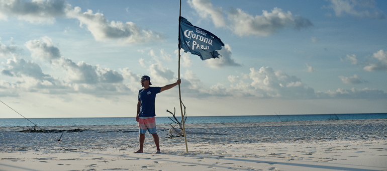 Corona and Parley for the oceans pledge to protect 100 islands from marine plastic pollution by 2020