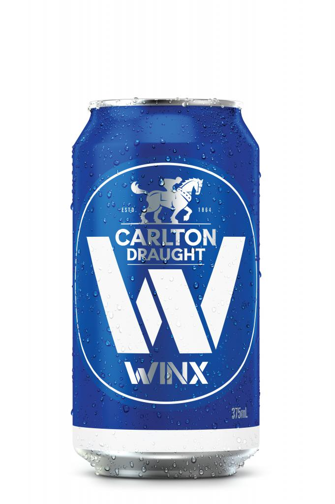 Carlton Draught and Daryl Braithwaite say that's the way it's gonna be with Winx Cans