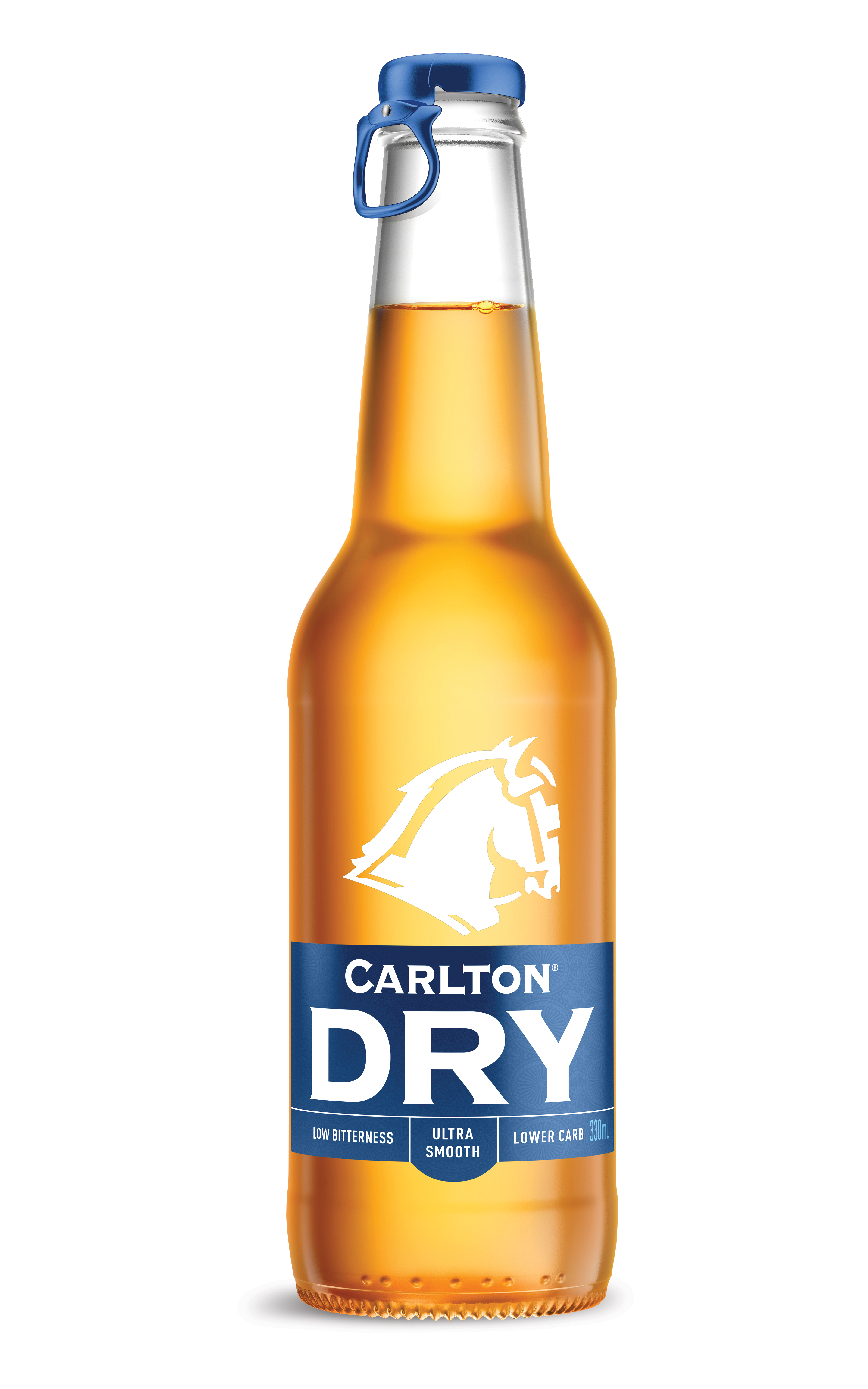 NEW PACKAGING FOR CARLTON DRY